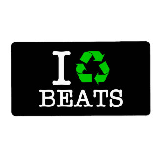 I Recycle Beats Label