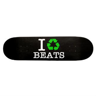I Recycle Beats Skateboard Deck