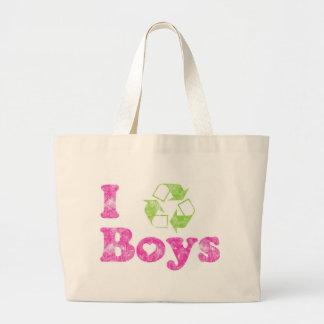 I Recycle Boys Jumbo Tote Bag