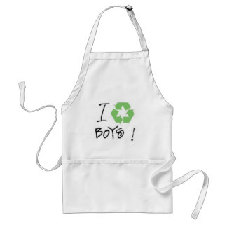 I Recycle Boys! (Just 4 Girls <3) Aprons
