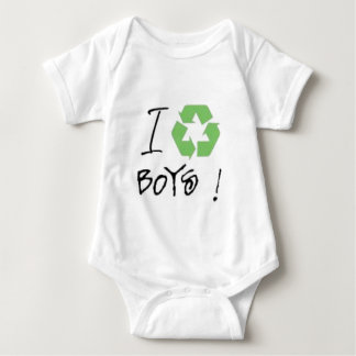 I Recycle Boys! (Just 4 Girls <3) Baby Bodysuit