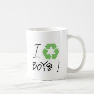 I Recycle Boys! (Just 4 Girls <3) Classic White Coffee Mug