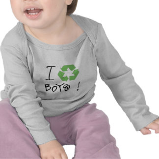 I Recycle Boys! (Just 4 Girls <3) T Shirts