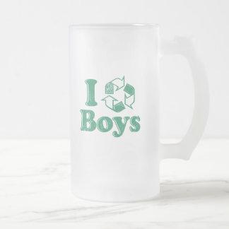 I Recycle Boys Coffee Mug