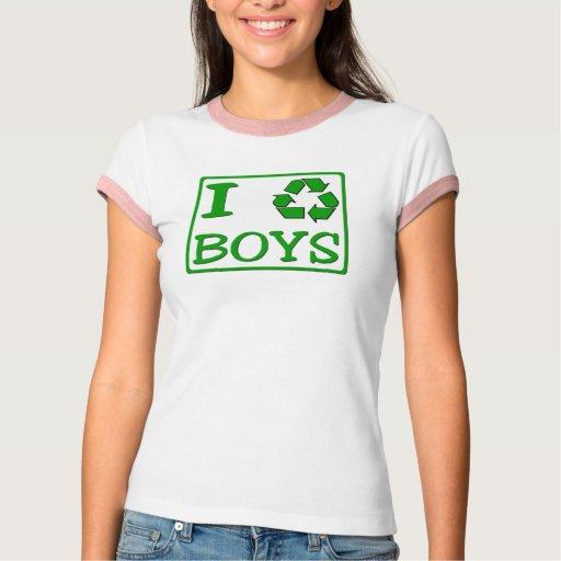 I Recycle Boys Shirt
