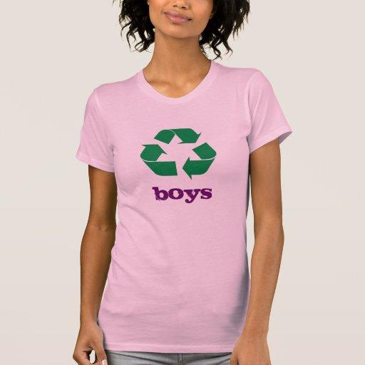 i recycle boys tee