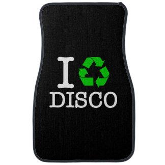 I Recycle Disco Car Mat