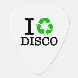 I Recycle Disco Guitar Pick