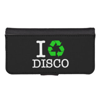 I Recycle Disco iPhone 5 Wallet