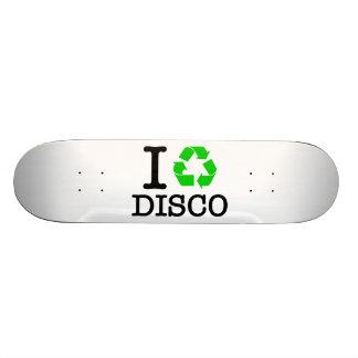 I Recycle Disco Skateboard