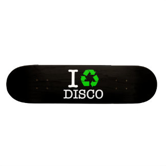 I Recycle Disco Skateboard Deck