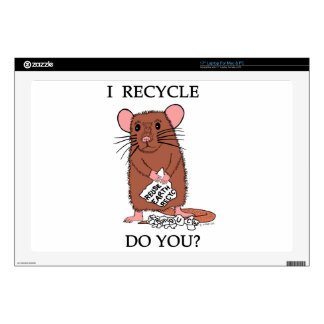 I Recycle, Do You? Decal For Laptop