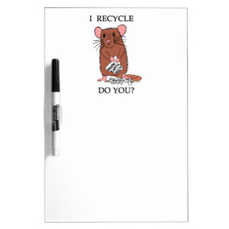 I Recycle, Do You? Dry-Erase Whiteboards