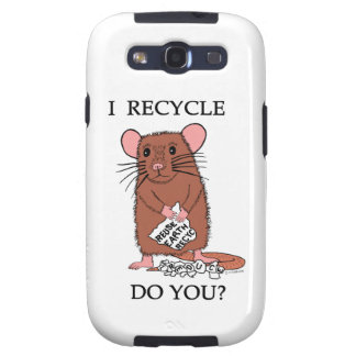 I Recycle, Do You? Galaxy SIII Case