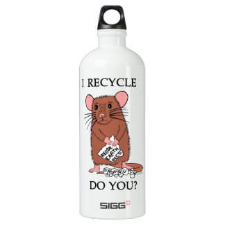 I Recycle, Do You? SIGG Traveler 1.0L Water Bottle