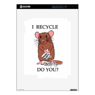 I Recycle, Do You? Skins For The iPad 2