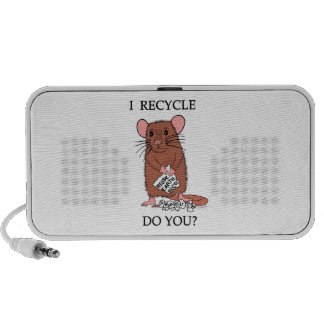 I Recycle, Do You? Travelling Speaker