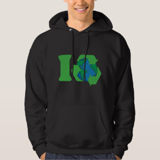 I Recycle Earth Day Hoodie