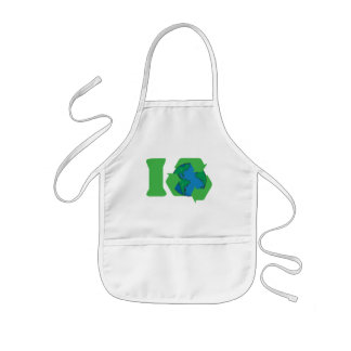 I Recycle Earth Day Kids' Apron
