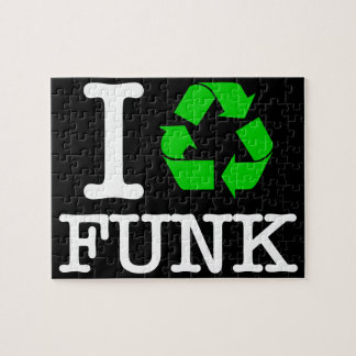 I Recycle Funk Jigsaw Puzzle
