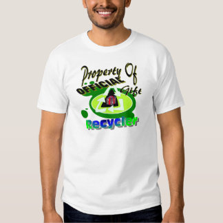 I Recycle Gifts Tee Shirt