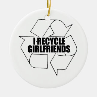 I recycle girlfriends christmas tree ornaments