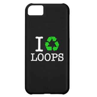 I Recycle Loops iPhone 5C Cover