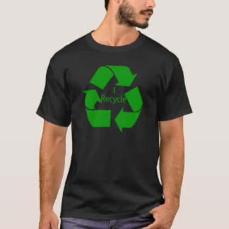 I Recycle w/ Green Symbol T-Shirt