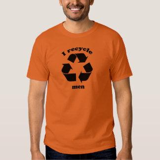 I Recylce Men Tshirt