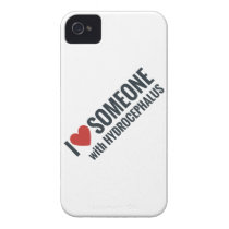 I Red Heart Someone With Hydrocephalus iPhone 4 Case