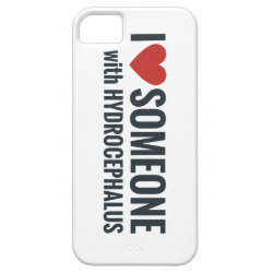 I Red Heart Someone With Hydrocephalus iPhone SE/5/5s Case