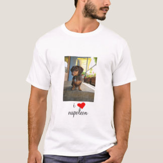 i [REDheart] - Portrait Mens T-Shirt