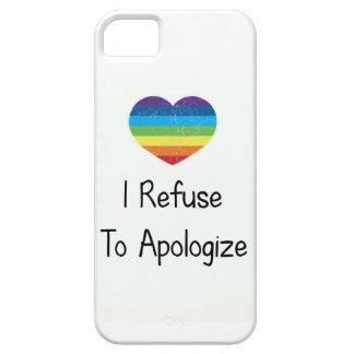 I Refuse to Apologize iPhone SE/5/5s Case