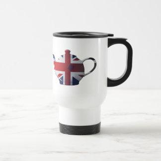 I regalos ingleses del té del corazón tazas