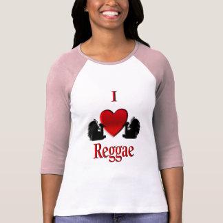 I reggae ShirtsG del corazón Camiseta