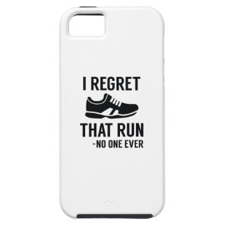 I Regret That Run iPhone SE/5/5s Case