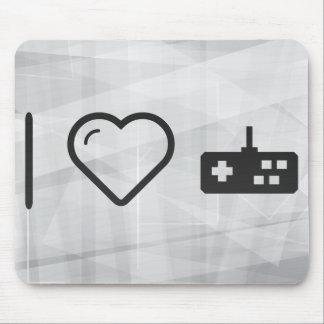 I reguladores de Gamepad del corazón Alfombrillas De Ratón