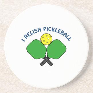 I Relish Pickleball Drink Coaster