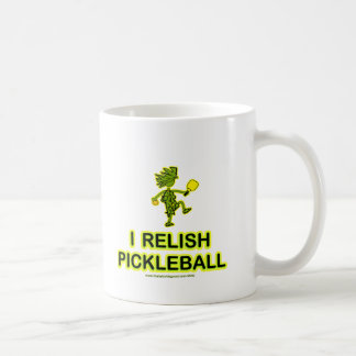 I Relish Pickleball Shirts & Gifts Classic White Coffee Mug