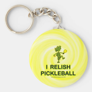 I Relish Pickleball Shirts & Gifts Keychain