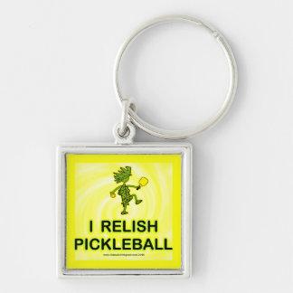 I Relish Pickleball Shirts & Gifts Keychain