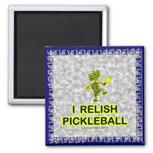 I Relish Pickleball Shirts & Gifts Refrigerator Magnet