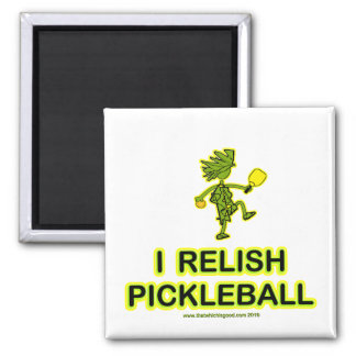 I Relish Pickleball Shirts Gifts Fridge Magnet