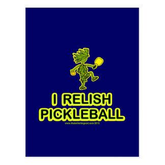 I Relish Pickleball Shirts & Gifts Postcard