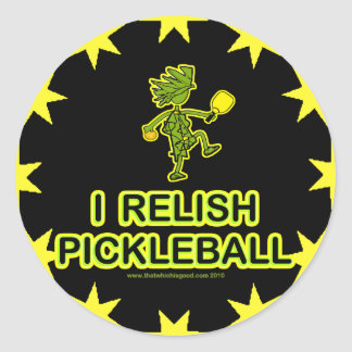 I Relish Pickleball Shirts & Gifts Stickers