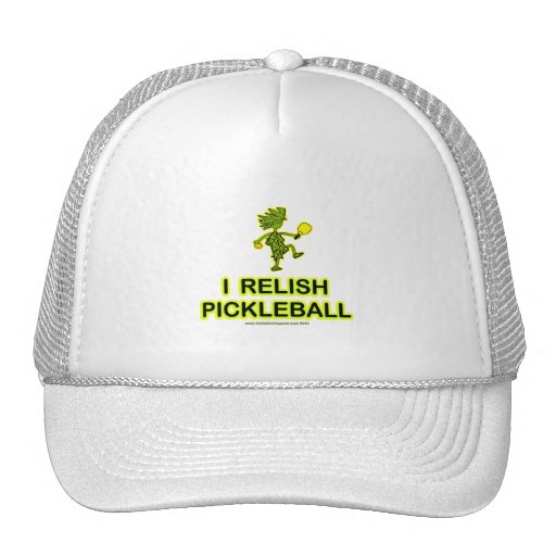 I Relish Pickleball Shirts & Gifts Trucker Hat