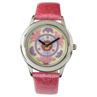 i: reloj de la pasión del ght con la correa rosada