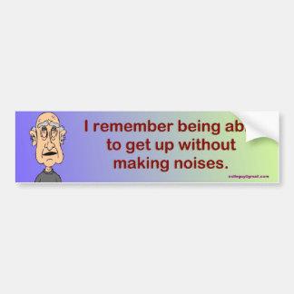 I remember... bumper sticker