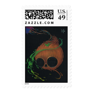 I remember Halloween Postage