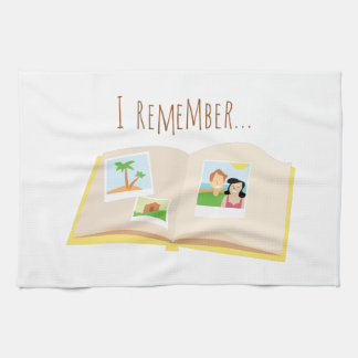 I Remember Hand Towel